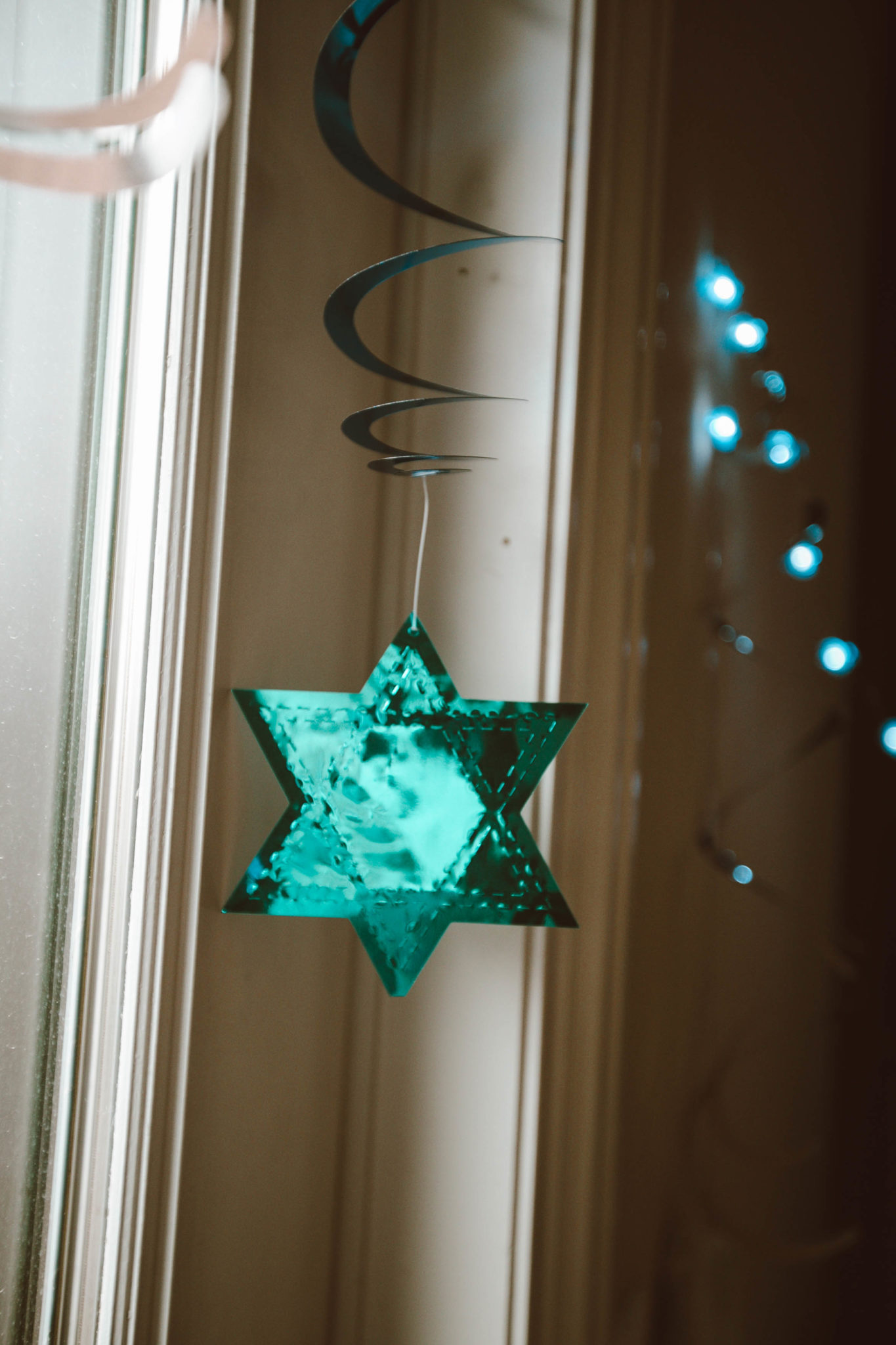 Hanukkah Home Decor Ideas featured by top Chicago life and style blog, Glass of Glam