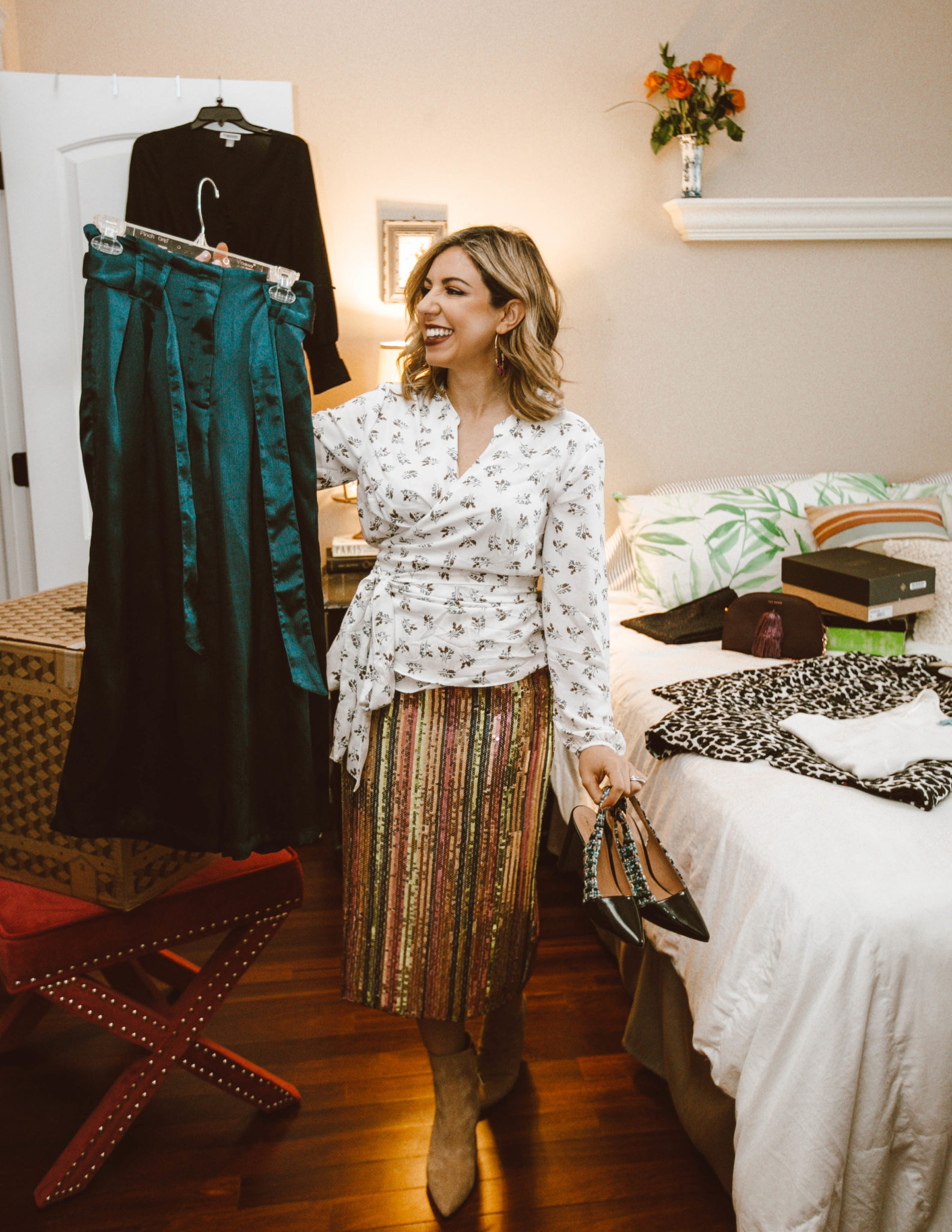 Trunk Club workwear featured by top Chicago fashion blog, Glass of Glam
