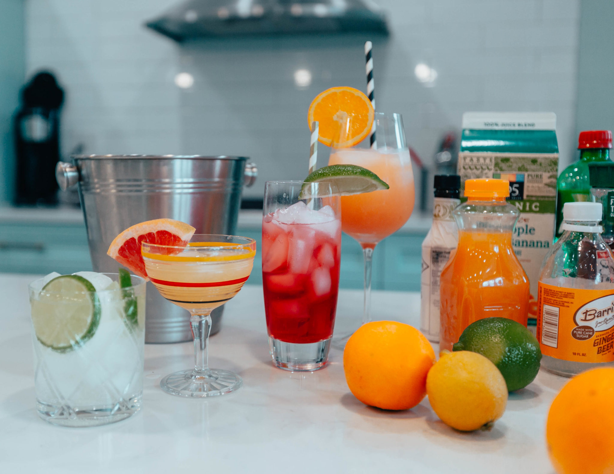 Delicious and Easy Mocktail Recipes featured by top US lifestyle blog, Glass of Glam