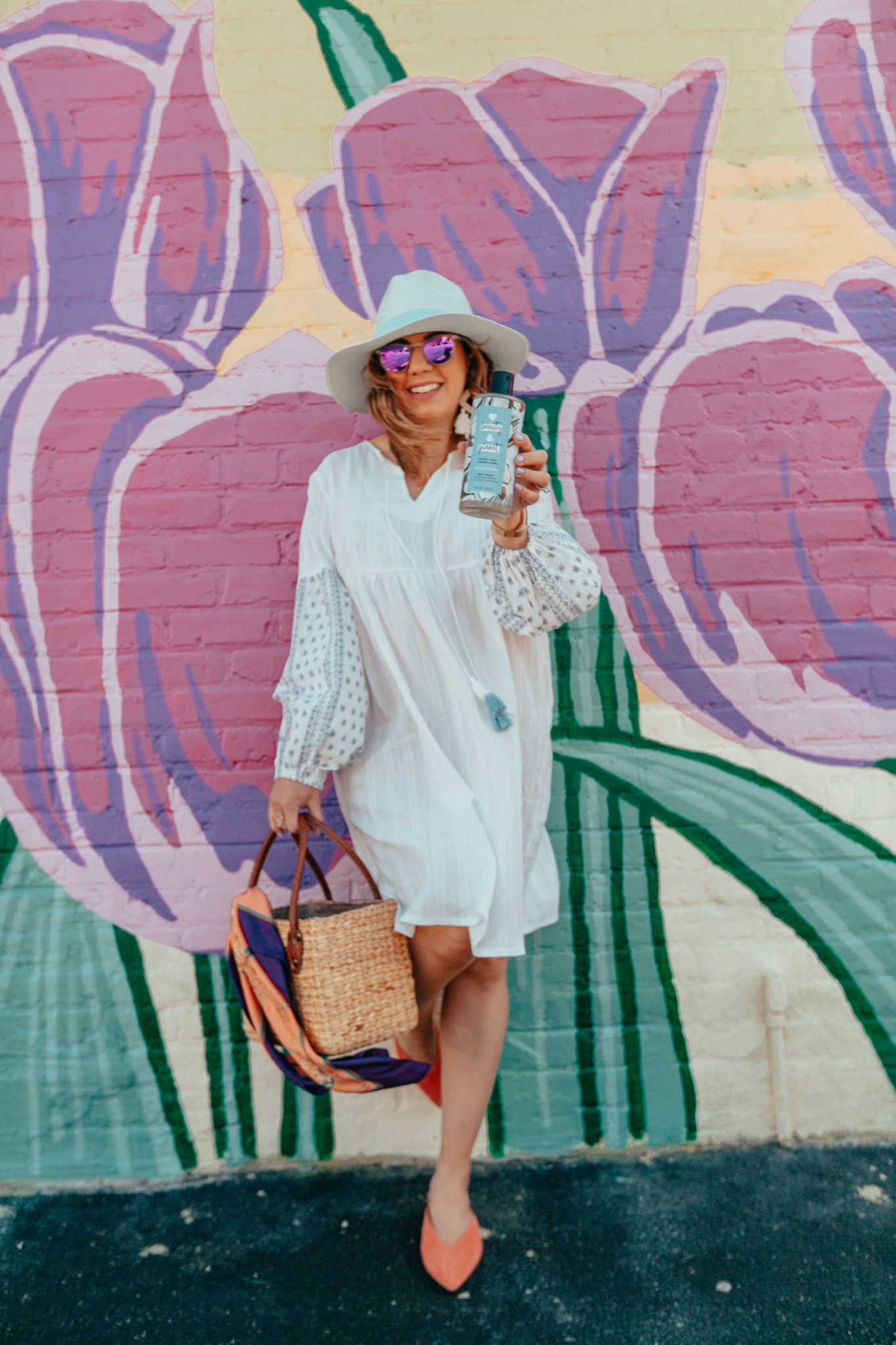Summer maternity-friendly Shein clothing featured by top US fashion blog, Glass of Glam