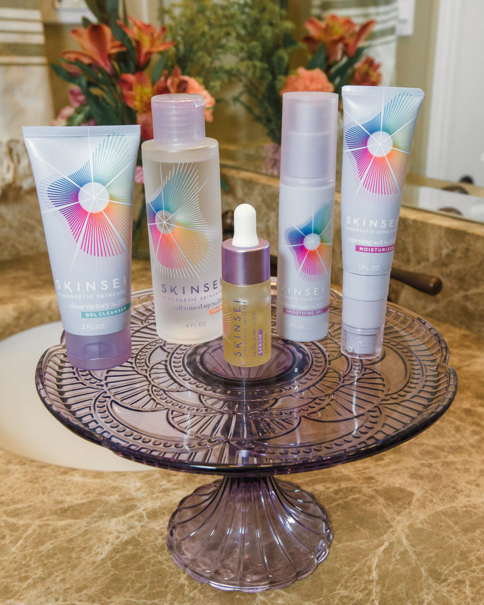 Find Your Personalized Skinsei Skincare Routine by popular Chicago beauty blog, Glass of Glam: image of Skinsei skincare products.