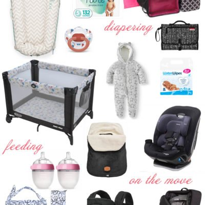 Essentials For Winter Travel With A Baby