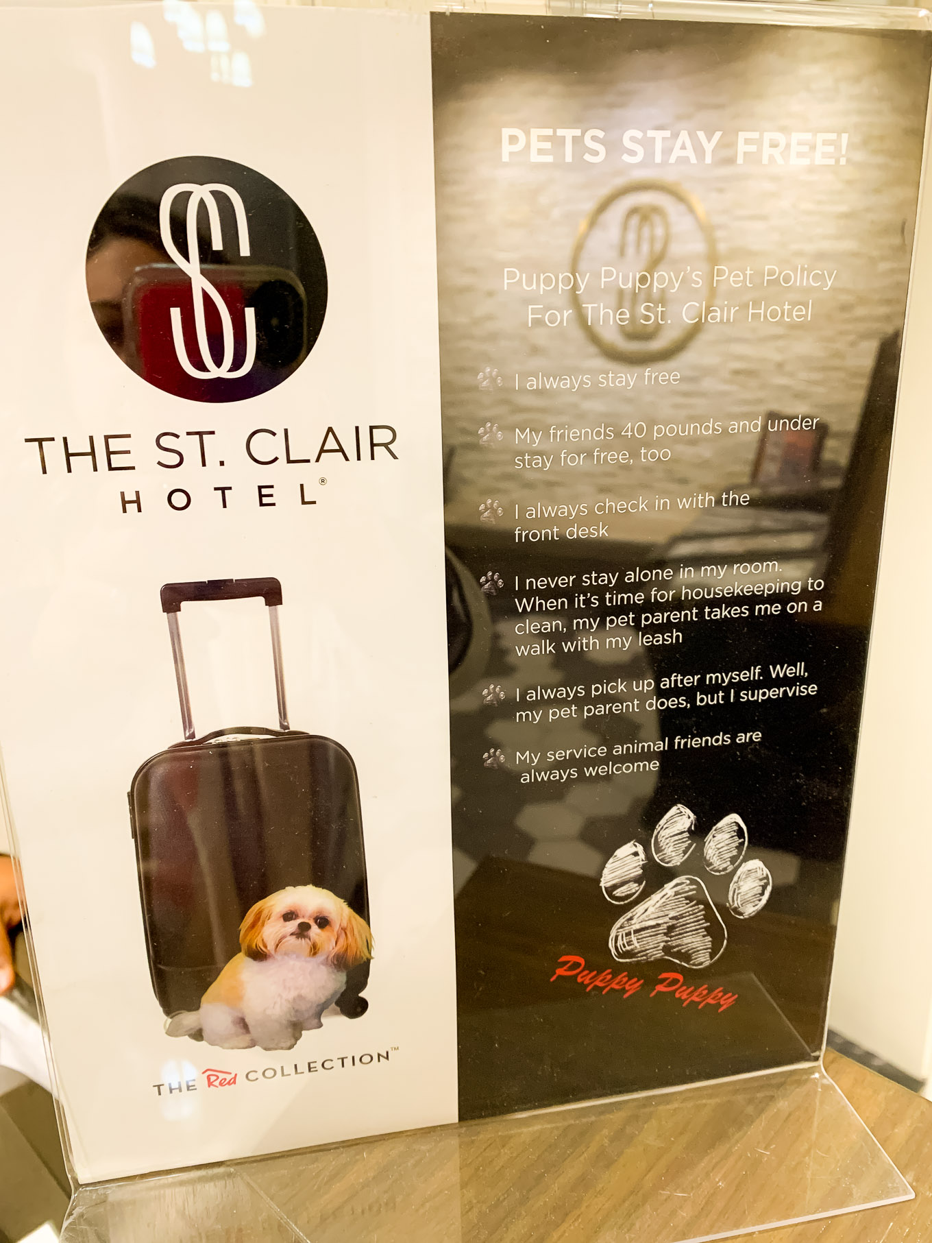 St Clair hotel Chicago review featured by top Chicago blog, Glass of Glam