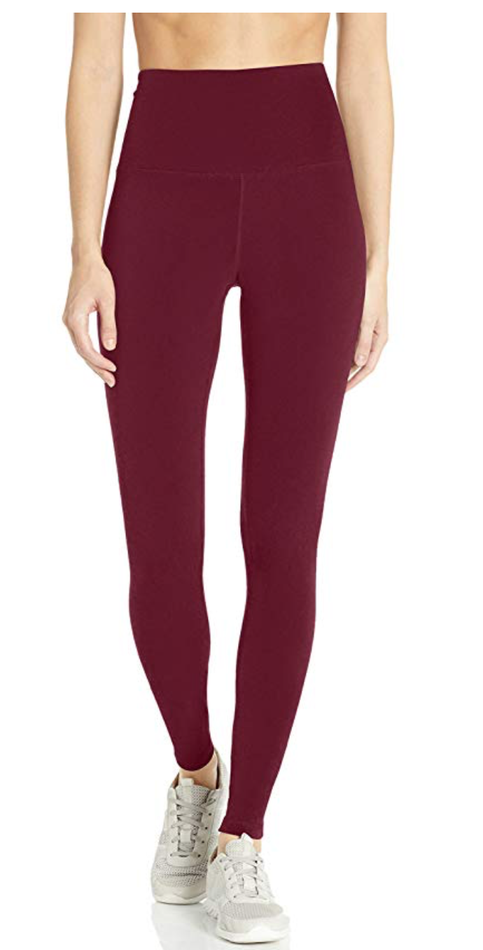 My Amazon Winter Fashion Favorites by popular Chicago fashion blog, Glass of Glam: image of Amazon Women's Performance High-Rise Full Length Active Legging.