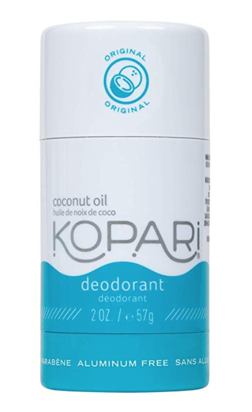 My Natural Deodorant Review by popular Chicago life and style blog, Glass of Glam: image of Kopari natural deodorant.