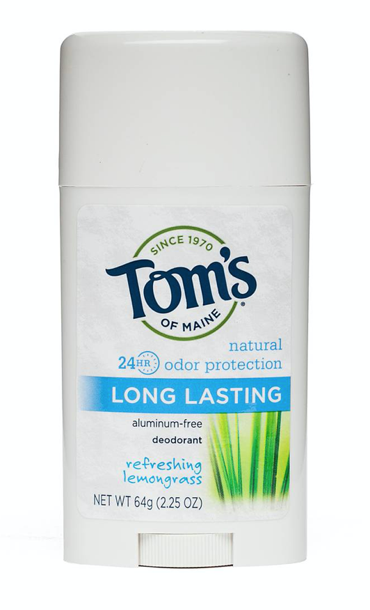 My Natural Deodorant Review by popular Chicago life and style blog, Glass of Glam: image of Tom's natural deodorant.