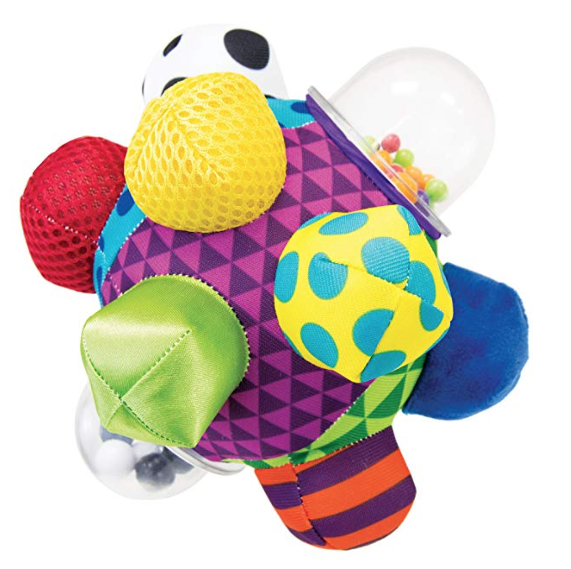 6 Month Old Baby Must Haves by popular Chicago lifestyle blog, Glass of Glam: image of a colorful sensory toy.