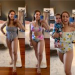 At Home Swimwear Try-On