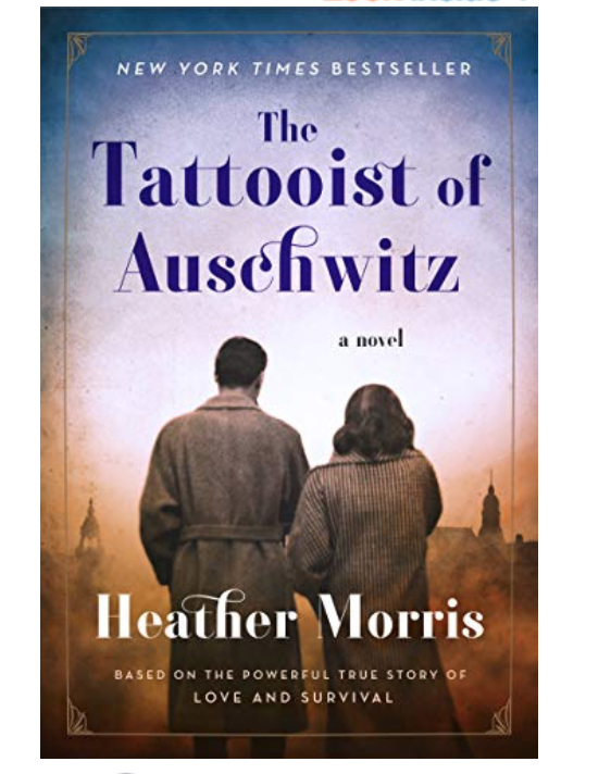 Quarantine Reading List by popular Chicago lifestyle blog, Glass of Glam: image of The Tattooist of Auschwitz.