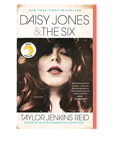 Quarantine Reading List by popular Chicago lifestyle blog, Glass of Glam: image of Daisy Jones and The Six.