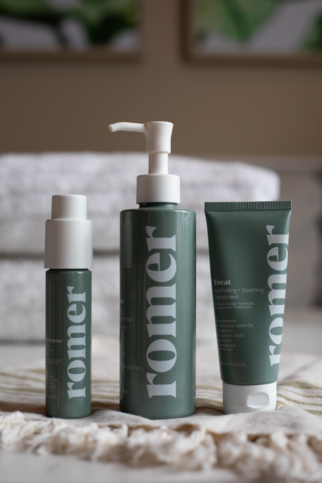 Romer Skincare by popular Chicago beauty blog, Glass of Glam: image of Romer Skincare products.