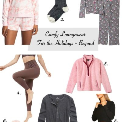 Loungewear for the Holidays and Beyond