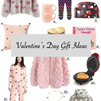 Valentine's Day Outfits + Gift Ideas