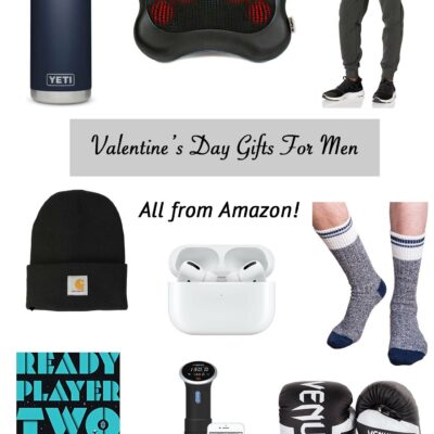 Valentine's Day Gifts for Him – All From Amazon!
