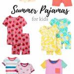 Summer Pajamas for Kids