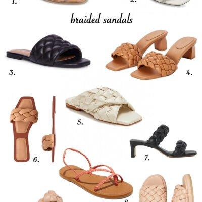 Hot Trend: Braided Sandals