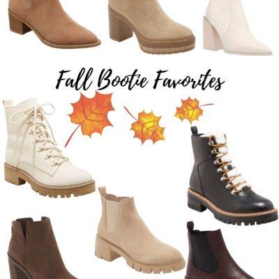 Cute Fall Booties for Women