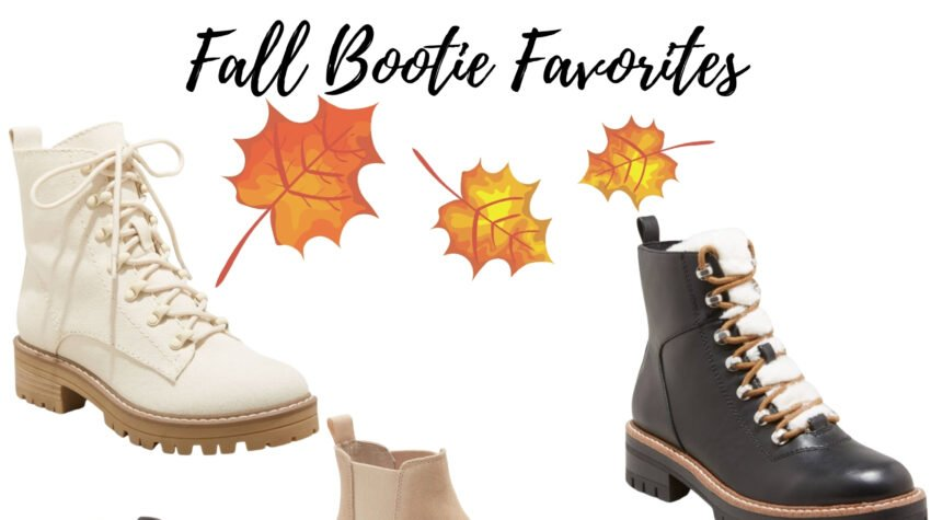 Cute Fall Booties for Women featured by top Chicago fashion blogger, Glass of Glam